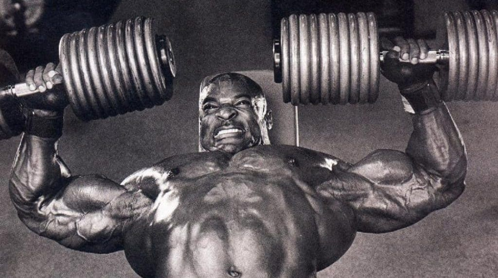 Ronnie coleman training tips